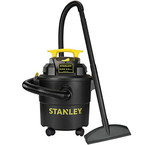 Stanley SL18115P Wet/Dry Vacuum, 5 Gallon, 4 Horsepower, 4.0 HP AC,...
