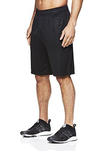 HEAD Herren Trainingshose mit elastischem Bund und Kordelzug - Schwarz - Klein