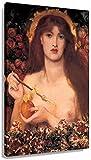 Cuadros Decoracion Más Famoso Pop Dante Gabriel Rossetti Venus Verticordia Romanticismo Retro Artículos Decorativos Modernos Arte de Pared de impresión 50x70cm x1 Sin Marco