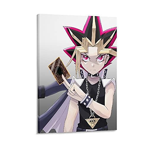 Yu-Gi-Oh Duel Monsters Poster Yami Yugi Poster Giappone anime poster su tela, 50 x 75 cm