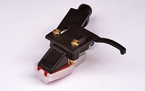 Headshell platenspeler, cartridge en schrijfkop voor Denon DP-30L, DP-35F, DP-37F, DP-45F, DP-47F, DP-51F, DP-52F, DP-23F