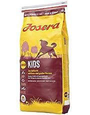 JOSERA Kids (1 x 15 kg)   Welpenfutter für mittlere und große Rassen   ohne Weizen   Super Premium Trockenfutter für wachsende Hunde   1er Pack