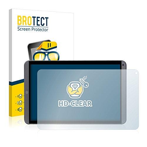 brotect Pellicola Protettiva Compatibile con Mediacom Smartpad MX 10 M-SP10MXHA Pellicola Trasparente (2 Pezzi) Anti-Impronte