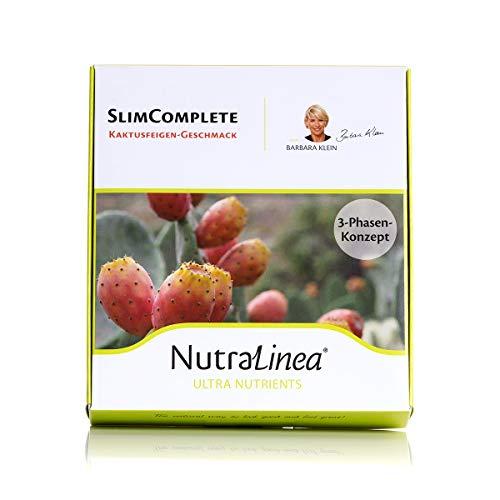 SlimComplete 3-Phasen Konzept mit Kapseln und Drink, 30 Tage Programm 200g mit Kaktusfeigen, Grüne Kaffebohnen, Rote Beete, Vitaminen & Mineralstoffen. 30 Brausetabletten Vegan