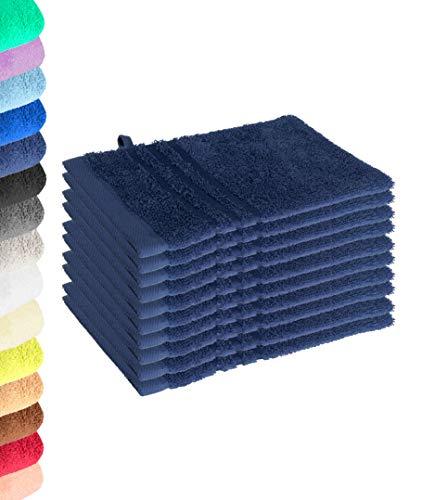 Lavea Série Elena Linge de toilette en éponge 100 % coton