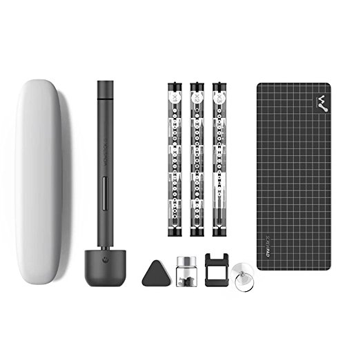 KKmoon Mini Cacciavite di Precisione- Portatile Kit Cacciavite Elettrico di Precisione Cacciavite Elettrico con Batteria per Occhiali, PC, Smartphone, Cellulare, Laptop, Elettronica