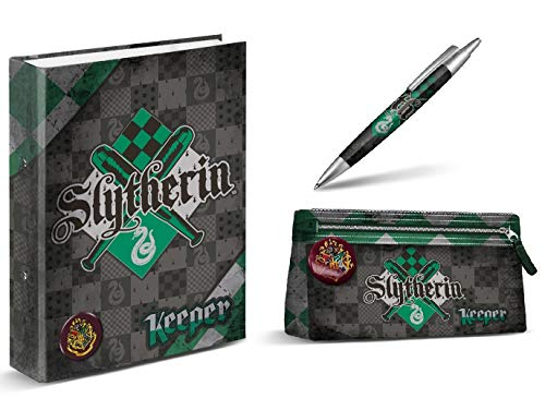 Aucun Carpeta Harry Potter - Slytherin - Estuche de lápices de Harry
