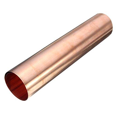 Pomcat Tôle aluminium 99,9 % pur cuivre 0,1 x 200 x 1 000 mm