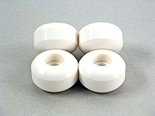 Blank Wheels Skateboard Rollen Set 58mm Weiß (4 Rollen)