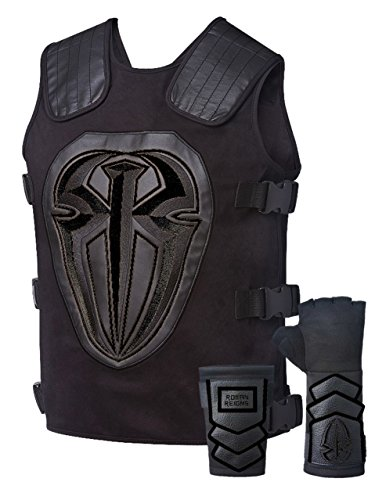 Roman Reigns Replica Weste Superman Punch-Handschuh Kostüm Gr. One Size, Onyx Black