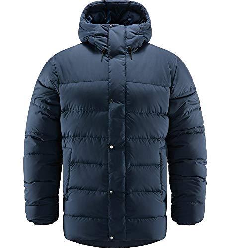 Haglöfs Daunenjacke Herren Daunenjacke Näs Down Jacket Insulating, Atmungsaktiv, Wasserabweisend Tarn Blue XL XL