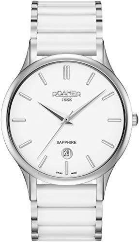 Roamer Reloj Analógico para Hombre de Cuarzo con Correa en Acero Inoxidable 657833 41 25 60