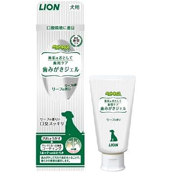 ライオン (LION) ペットキッス (PETKISS) 歯みがきジェル ペット用 40g
