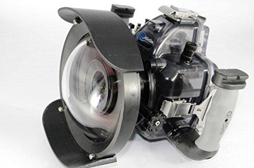 gio-sim carcasa submarina para Olympus E-M1 Mark II óptica estándar 18-55