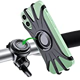 VUP Handyhalterung Fahrrad, abnehmbare Handyhalter Fahrradlenker universal 360°drehbare Silikon Handyhalterung für Fahrrad Motorrad Kinderwagen 4.0 bis 6.5 Zoll Smartphones