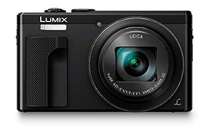 Panasonic DMC-TZ80, Cámara Compacta de 18.1 MP (Super Zoom, Objetivo F3.3-F6.4 de 24-720 mm, Estabilizador Híbrido, Zoom de 30X, 4K, Wifi, RAW), HDMI, Negro
