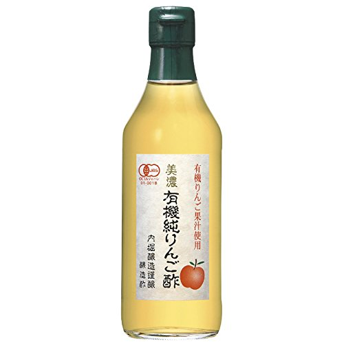 美濃有機純りんご酢360ml