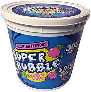 Super Bubble Gum, Assorted, 54 Ounce Tub