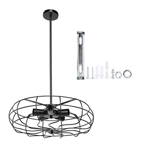 Vintage waaiervormige E27 kroonluchter plafondlamp hanglamp voor hotelrestaurant 65V-265V, plafondlamp