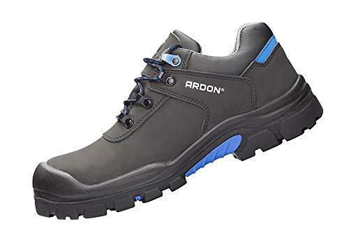 Ardon Safety Rover Low S3 UK Plano Negro Calzado de Seguridad Calzado de Trabajo, Tamaño:39 EU