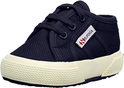 Superga 2750-bebj Baby Classic, Zapatillas Unisex niños, Azul (933 Navy), 19 EU