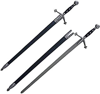 Celtic Medieval Scottish Royal Claymore Arming Sword With Scabbard