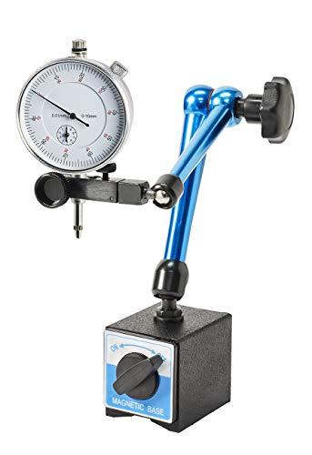 WABECO Magnet-Messstativ mit Messuhr Zentralklemmmung Messuhrhalter