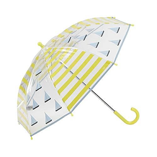 Paraguas infantil con detalles amarillos