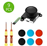Wattne 1 Pack 3D Replacement Joystick Analog Thumb Stick for Nintendo Switch Joy Con Controller, ThumbStick...
