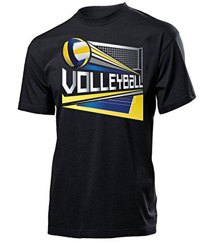 Volleyball Geburtstag Geschenk Herren Männer t Shirt Tshirt t-Shirt Fanshirt Fan Fanartikel zubehör Bekleidung Oberteil Hemd Kleidung Outfit Spruch Fun witzig Artikel