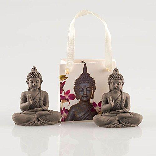 pajoma Buddha Figur, Grau
