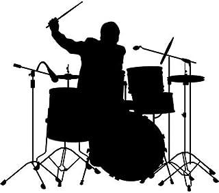 Suchergebnis Auf Für Schlagzeug Aufkleber Merchandiseprodukte Auto Motorrad
