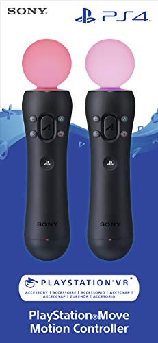 PlayStation Move Motion-Controller - Twin Pack (2018) [PSVR] [PlayStation 4 ]