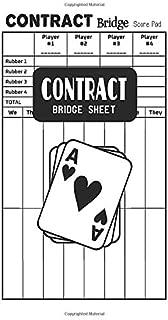 Contract Bridge Sheet: Contract Bridge Score Pads