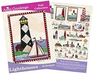 Best lighthouse machine embroidery designs Reviews