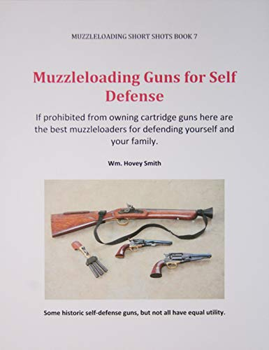 Muzzleloading Guns for Self Defense: If prohibited from owning cartridge guns here are the best...