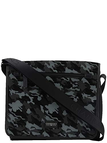 Chabrand BESACE/PORTE TRAVERS ARMY EN TOILE GRIS