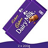 Cadbury Fairtrade Dairy Milk Chocolate Bar (200g) - Pack of 2