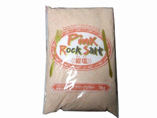 パキスタン産「ピンクロックソルト」 採掘法岩塩1kg