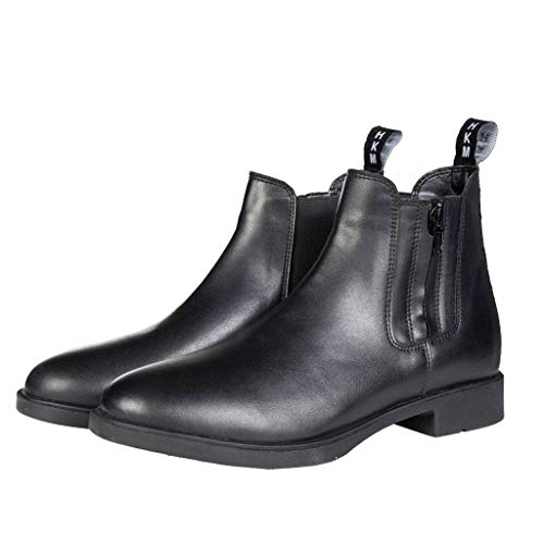 HKM Erwachsene Stiefeletten Synthetik-Europa-9100 schwarz41 Hose, 9100 schwarz, 41