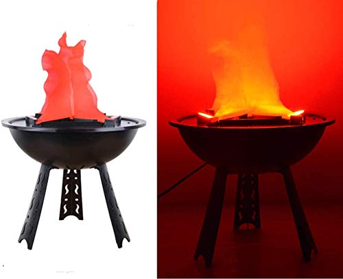 Halloween Lights, Electric LED Flamsee 3D Fake Fire Lamp Eeffect Torch Light for Halloween Xmas...