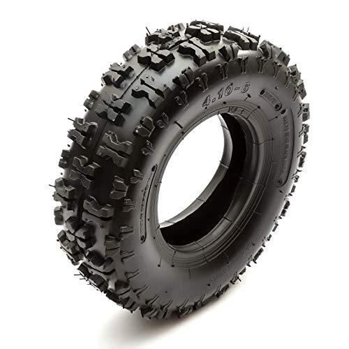 Neumático 4.10-6 Eléctrico Midi Moto Quad 6 Inch 410-6 Off Road Protuberante Surcos