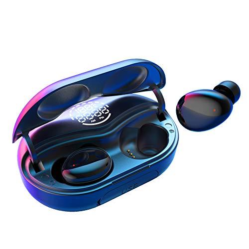 Touch Two C8 | True Wireless Kopfhörer mit drei verschiedenen Technologien, Bluetooth In-Ear-Kopfhörer mit Hi-Fi Stereo Sound, Mikrofon u. 140 Studen Wiedergabezeit, 3500 mAh, IPX7 wasserdicht