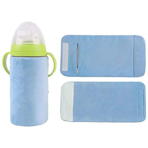Warme Milch Isolierbeutel Flaschenwärmer Thermostat Baby kostwärmer Babyflaschenwärmer USB Flaschenwärmer Isolierungsabdeckung Fütterung Flasche Tasche Thermostat Outdoor Tragbare Milch Heizung Wärmer