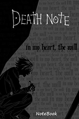 Notebook death note: a gift for your otaku friend (anime)