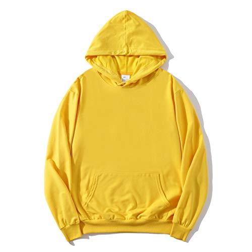 N-B Sudaderas con Capucha Ligeras para Hombres/Mujeres, Sudaderas Sueltas Tipo Jersey, suéteres Casuales sólidos