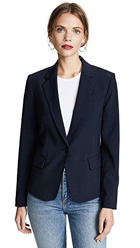 Theory Women's Edition 2 Custom Gabe Blazer, Dark Navy, Blue, 4