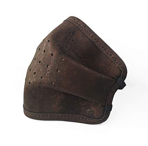 Cork Leather gezichtsmaskers | Wasbaar en herbruikbaar | Milieuvriendelijk beschermend volwassen masker BRON