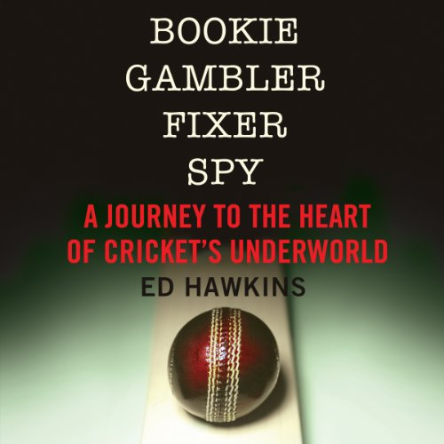 Bookie Gambler Fixer Spy audiobook cover art