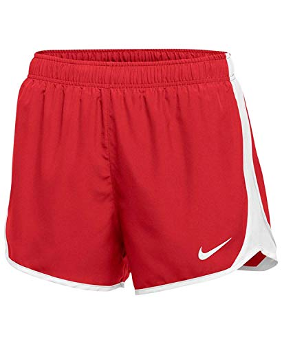 Nike Womens Running Fitness Shorts Red S